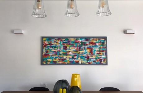 ציור בהזמנה לבית בבנימינה